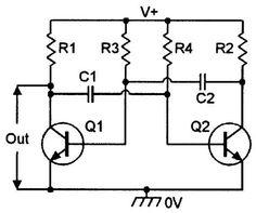 Build a DIY function generator circuit diagram using quad