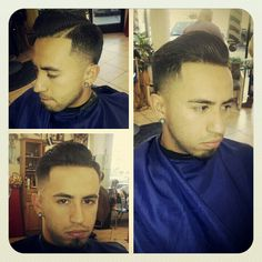 Pompadour taper #barber #haircuts