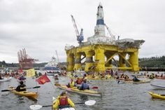 Shell's Arctic drilling is the real threat to the world, not kayaktivists