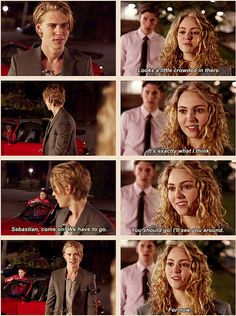 veya1992:  The Carrie Diaries  - S1/ Ep 1 Pilot  Sebastian & Carrie ♥