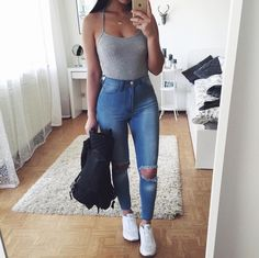 Imagen de fashion, outfit, and girl
