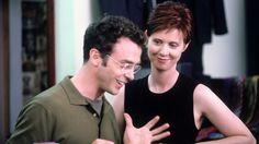 Steve, Miranda ~ The Caste System: Season 2, Episode 10 ~ Sex and the City Episode Stills #amusementphile
