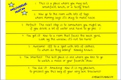 Indoor Scavenger Hunt-- perfect for those cold (or too warm) days inside!