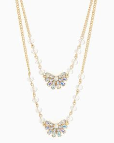 charming charlie | Disco Dangle Necklace | UPC: 410007639378 #charmingcharlie