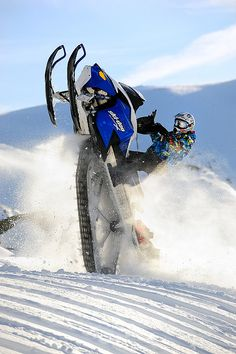 Snowmobile, Sweden.   www.throttlexbatteries.com for all your snowmobile battery needs. Think snow! ❄️