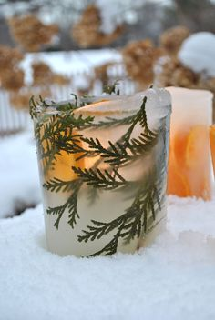 How To: Ice Lanterns
