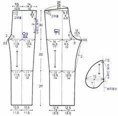How to sew a T-shirt for Men - Sewing Method Sewing Men, Sewing Pants, Sewing Clothes, Men Clothes, Clothing Patterns, Dress Patterns, Sewing Patterns, Couture, Kurta Designs
