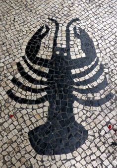 Macau Tiled Streets (Lobster) - Photo taken by BradJill