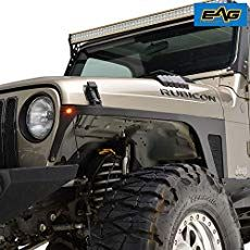 Eag Fender Flares With Mounting Hardware Pocket Style Fit For 97