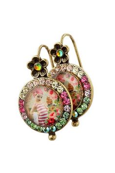 she-shy dangle earrings