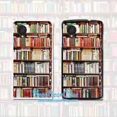 Antique Bookshelf Bookcase vintage retro case for iPhone Samsung Sony, LG Nexus, Nokia Lumia, HTC One, Moto X Moto G Vintage Bookshelf, Antique Bookcase, Old Bookcase, Iphone 6, Iphone Cases, Bookcase With Glass Doors, Sony Phone, Sony Xperia Z3, S5 Mini