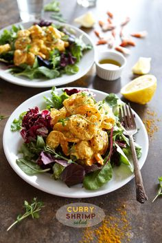 Curry Shrimp Salad