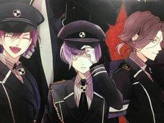 Find images and videos about anime, manga and diabolik lovers on We Heart It - the app to get lost in what you love. Boys Anime, Cute Anime Boy, Anime Manga, Anime Art, Diabolik Lovers, Kanato Sakamaki, Ayato, Mystic Messenger, Hot Vampires