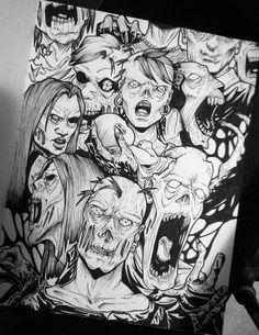 Zombie by IAnastasiaI.deviantart.com on @DeviantArt