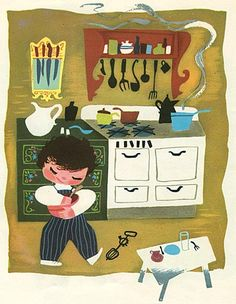 Baby's House by Mary Blair