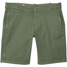 MANGO MAN Chino bermuda shorts ($36) ❤ liked on Polyvore featuring men's fashion, men's clothing, men's shorts and green