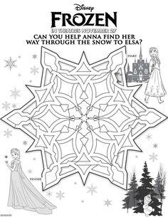 free+frozen+printables | Disney's Frozen: Free Printables For Kids!