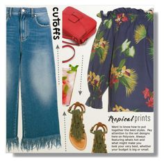 """Tropical"" by myfashionwardrobestyle ❤ liked on Polyvore featuring Isolda, K. Jacques and MSGM"