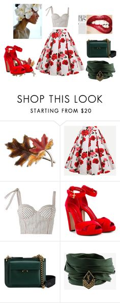 """""""Untitled #79"""" by belkisa-kahrimanovic ❤ liked on Polyvore featuring Anne Klein, Rosie Assoulin, Alexander McQueen, Marni, Yves Saint Laurent and Ultimate"""