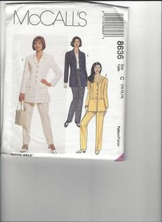 McCall's Pattern 8636 sizes 10-12-14 UNCUT by SewingasaHobby on Etsy