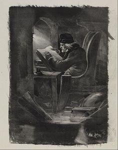 Nicolas-Toussaint Charlet - Essai à la manière noire (Un Géographe)