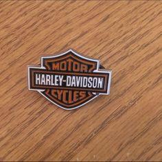 Harley Davidson pin Bar and shield Harley-Davidson Jewelry Brooches
