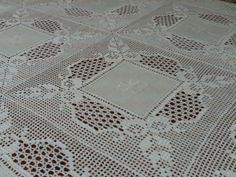 toalhas de mesa de jantar em croche - Cerca con Google
