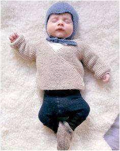 Baby Knit Cardigan – Free Pattern - STYLESIDEA