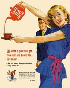 Vintage Tea Ad