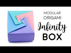 Modular Origami Box - This origami box is great for those just starting with modular origami. This is an easy tutorial for the origami fox box. Diy Origami, Design Origami, Origami Simple, Modular Origami, Origami Folding, Useful Origami, Origami Paper, Origami Ball, Origami Box With Lid
