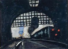 Auguste CHABAUD - La gare.