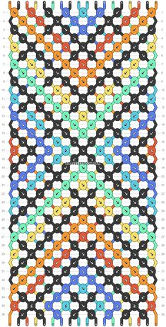Normal pattern #61150 | BraceletBook