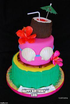 Hawaii cake (Lori)