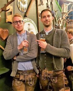 Herren Outfit, Lederhosen, Gay Couple, Couple Pictures, Trends, Cheer, Menswear, Costumes, Blazer