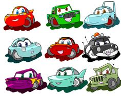 Cars Characters, Fictional Characters, Car Memes, Disney Pixar Cars, Lightning Mcqueen, Retro Cars, Bowser, Chibi, Redline