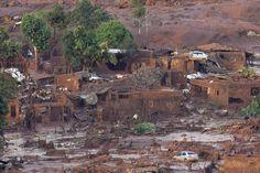 Acusan de homicidio a mineras tras desastre ambiental en Brasil