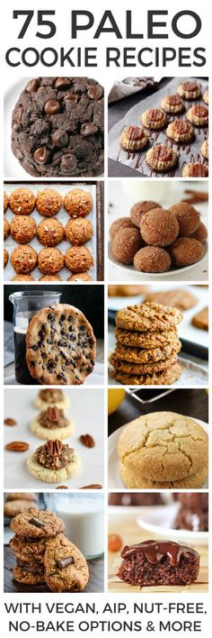 75 Paleo Cookie Recipes You Can't Resist