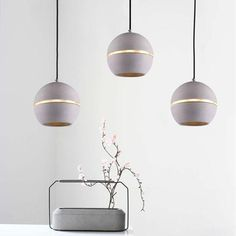 Concrete Lamp Pendant Light