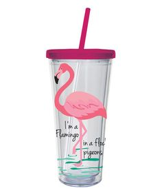Another great find on #zulily! Birds of a Feather XL 20-Oz. Tumbler #zulilyfinds