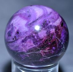 Sugilite 2 inch 195 gram Natural Crystal Sphere - South Africa