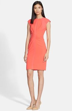 Ted Baker London 'Acerola' Mesh Panel Body-Con Dress available at #Nordstrom