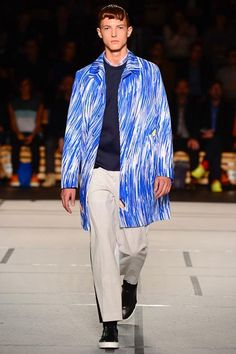 Scribble prints in brights Kenzo SS14 via style.com couttsconsultancy.com keeping an eye on the latest trends