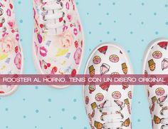 Rooster al Horno, tenis con un diseño original #Tenis #Zapatos #TiendaOnline #BlogDeModa