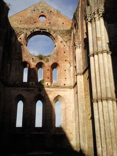 San Galgano Abbey, near Siena - a nice little day trip away from La Selva Vacation Villas that can be combined with a visit to Siena.  Image by Sherry Mason