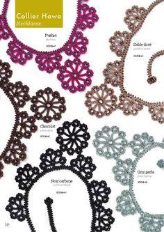 Crochet jewellery - 6