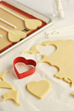 The Perfect Sugar Cookies by Sweetapolita (supposed to keep their shape well when baked)