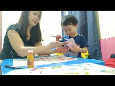 Art Activity #4 Hand Painting | Toddler | 2 years old - YouTube 2 Year Olds, Art Activities, Hand Painted, Youtube, Painting, Painting Art, Paintings, Painted Canvas, Youtubers