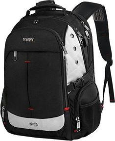 Large Laptop Backpack Extra Travel Backpacks With USB Charging Port for Men  TSA for sale online  5155bcb87b06a