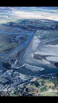 Porthmadog from above