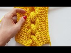 Cable Knit, Elsa, Knitting, Youtube, Fashion, Long Scarf, Tricot, Craft, Slippers Crochet